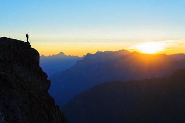 FRA8758 Europe, France, Haute Savoie, Rhone Alps, Chamonix, Brevant landscape