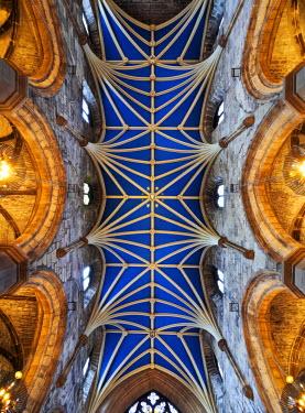 SCO33568AW UK, Scotland, Lothian, Edinburgh, Vault of the St Giles' Cathedral.