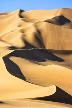 NIG7505 Niger, Agadez, Sahara Desert, Tenere, Arakaou. The magnificent Arakaou sand dune in the Tenere Desert which stands about 385 m high.