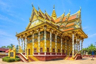 CMB1497AWRF Kan Doeng Pagoda (Wat Kan Doeng), Battambang, Cambodia