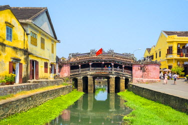 VIT1130AW The Japanese Covered Bridge in Hoi An ancient town, Hoi An, Quang Nam Province, Vietnam
