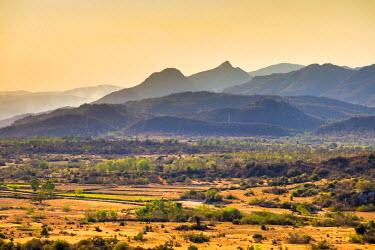 VIT1145AW Mountains and desert near Phan Rang-Thap Cham, Ninh Phuoc District, Ninh Thuan Province, Vietnam