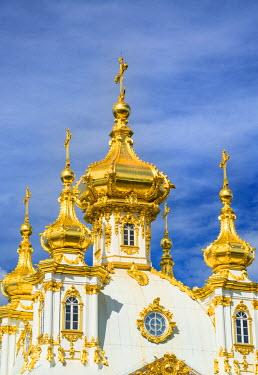 RUS1927AW Church of the Grand Palace, Petergof, Saint Petersburg, Russia