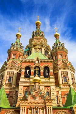 RUS1930AW Peter and Paul Cathedral, Petergof, Saint Petersburg, Russia