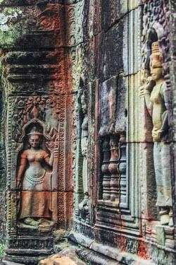 CM034RF Cambodia, Temples of Angkor (UNESCO site), Ta Som Temple