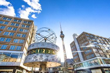 GER9085AW TV Tower, Alexanderplatz, Berlin, Germany