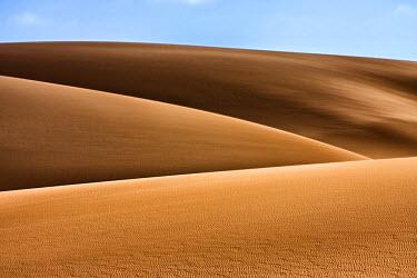 AF31JAM0050 West Coast Namibia. Artistic shot of sand dunes.
