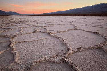 US05JFO0072 USA, California, Death Valley Salt Flats