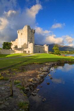 EU15BJN0075 Ross Castle (b. 15th Century) on Lough Leane near Killarney, County Kerry, Ireland