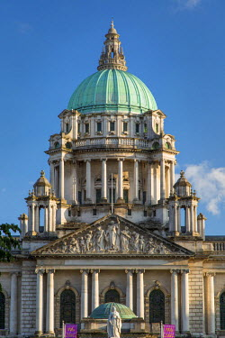 EU15BJN0107 Belfast City Hall Building, Belfast, Northern Ireland, UK