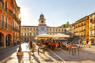 ITA5515AW Italy, Italia. Veneto. Padova district. Padua, Padova. Piazza dei Signori