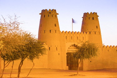 UE05069 United Arab Emirates, Abu Dhabi, Al Ain, Al Jahili Fort