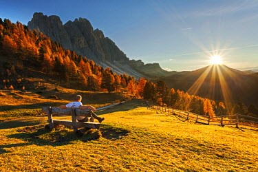 Odle/geisler, Dolomites, South Tyrol, Funes Valley/Villnoss, Bolzano, South Tyrol, Italy.