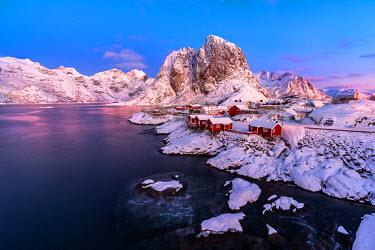 CLKWD39623 Hamnoy, Lofoten Islands, Norway