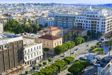 AF47NTO0035 Avenue Habib Bourguiba, Tunisia, North Africa