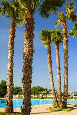 AF47NTO0063 Swimming pool, Ain Meriem Beach Holiday Village, Bizerte, Tunisia, North Africa