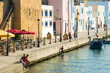 AF47NTO0067 The old port (El Ksiba), Bizerte, Tunisia, North Africa