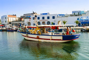 AF47NTO0069 The old port (El Ksiba), Bizerte, Tunisia, North Africa