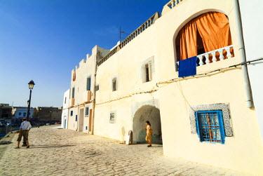 AF47NTO0077 The old port (El Ksiba), Bizerte, Tunisia, North Africa
