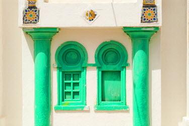 AF47NTO0093 Windows, Tabarka, Tunisia, North Africa
