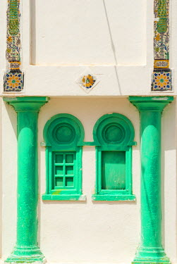 AF47NTO0094 Windows, Tabarka, Tunisia, North Africa