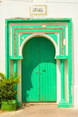 AF47NTO0095 Door, Tabarka, Tunisia, North Africa
