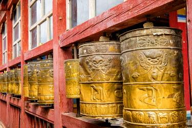 AS25EWI0023 Mongolia, Ulaanbaatar, Gandantegchinlen (Gandan) Monastery.