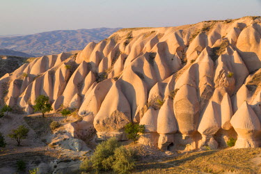 AS37EWI0046 Turkey, Cappadocia is a historical region in Central Anatolia, largely in the Nevsehir, Kayseri, Aksaray, and Nigde Provinces in Turkey. Tourism defines region characterized by fairy chimneys.