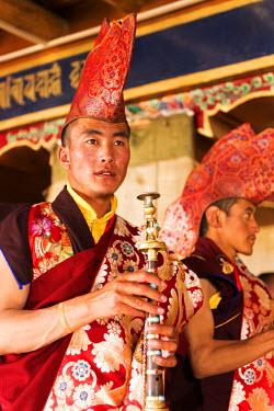 IND8078 Musicians, Korzok Gustor Festival, Tso Moriri, Ladakh