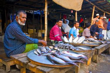 AS03MRU0067 Riverfish for sale, Barisal, Bangladesh, Asia