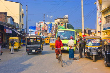 AS03MRU0083 Street scene Barisal, Bangladesh, Asia
