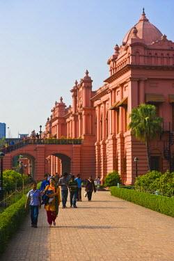 AS03MRU0087 The pink colored Ahsan Manzil palace in Dhaka, Bangladesh, Asia