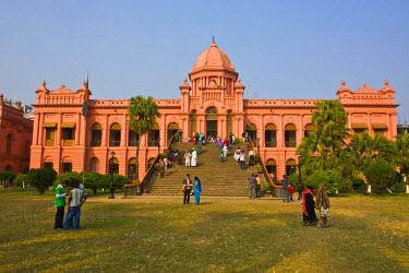 AS03MRU0090 The pink colored Ahsan Manzil palace in Dhaka, Bangladesh, Asia