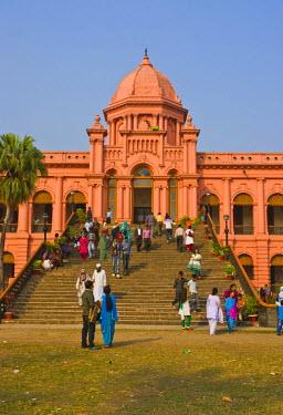 AS03MRU0091 The pink colored Ahsan Manzil palace in Dhaka, Bangladesh, Asia