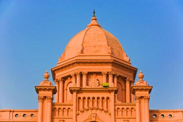 AS03MRU0094 The pink colored Ahsan Manzil palace in Dhaka, Bangladesh, Asia