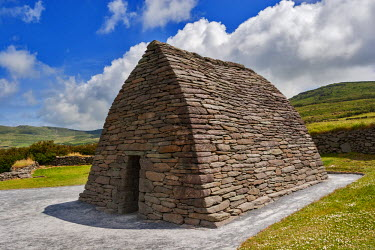Gallarus Oratory, an early Christian church from the 7th Century located on the Dingle Peninsula, Co, Kerry, Ireland.