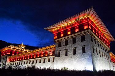 AS04KWI0073 Asia, Bhutan, Thimpu, Tashichho Dzong