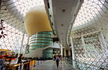HMS0360860 China, Shanghai, Pudong District, Science and technology Museum