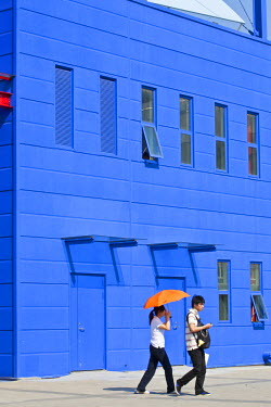 HMS0508325 China, Shanghai, Pudong, Expo 2010 Shanghai China park with 73 millions visitors, Cuba pavilion