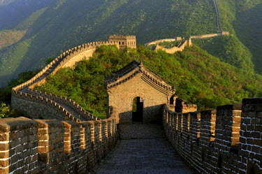 HMS0899041 China, near Beijing, Great Wall of China listed as World Heritage by UNESCO, Mutianyu section