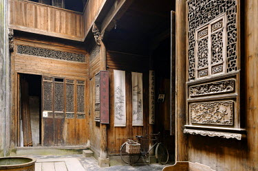 HMS1713279 China, Anhui province, Lucun, old traditional house