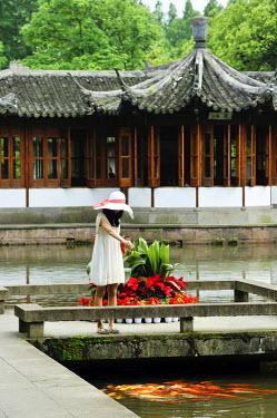 HMS1713474 China, Zhejiang province, Hangzhou, listed as World Heritage by UNESCO, Guo Zhuang (Guo's Villa or Fenyang Villa)