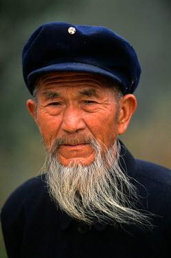 HMS2399005 China, Anhui, Xidi, Old man