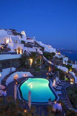 GR09269 The luxury 5 star Perivolas hotel, Oia, Santorini (Thira), Cyclades Islands, Greece