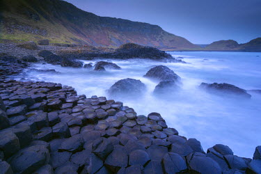 CLKMR21668 The rocks symbol of Giant's Causeway, Northern ireland