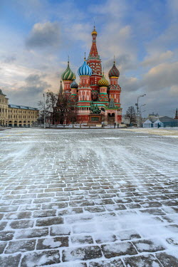 CLKFV40901 Russia, Moscow, Red Square, St. Basil's Cathedral