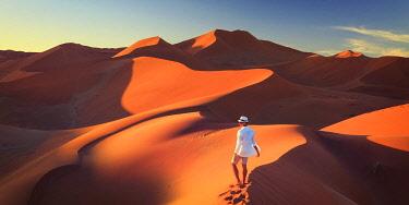NB01132 Namibia, Namib Naukluft National Park, Sossussvlei Sand Dunes