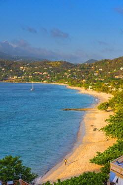 GN01026 Caribbean, Grenada, Grand Anse Bay, Grand Anse Beach