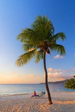 GN01027 Caribbean, Grenada, Grand Anse Bay, Grand Anse Beach