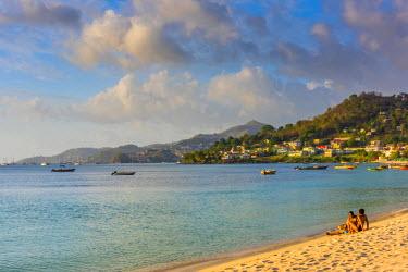 GN01038 Caribbean, Grenada, Grand Anse Bay, Grand Anse Beach
